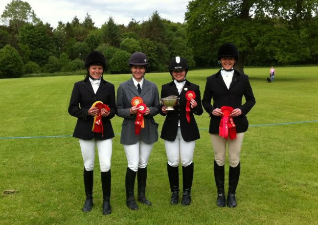 Galloway Horse Club dressage teams take 3rd and 4th! (July 09)